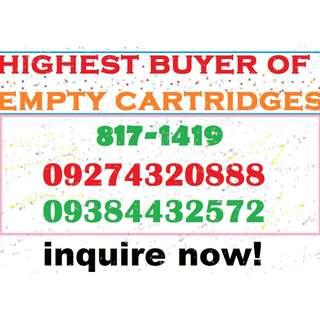 buyer of EMPTY CARTRIDGES