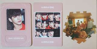 Wanna One Undivided + I.P.U PCs
