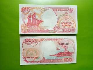 Uang kertas indonesia koleksi lawas