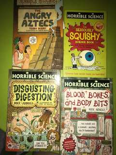 🚚 Horrible science books
