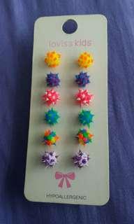 Lovisa Earrings spiky balls