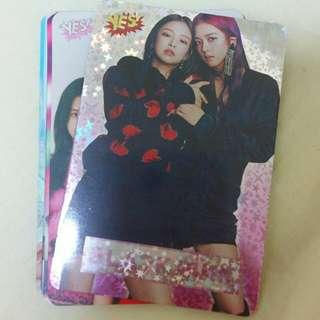 $12@13張 韓國女團 blackpink yescard