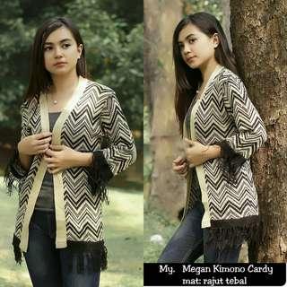 CHY - 0418 - Outwear Kimono Outher Megan cardie