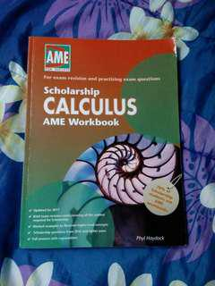AME SCHOLARSHIP CALCULUS