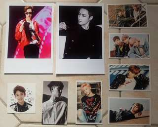 EXO & BTS Unofficial Prints