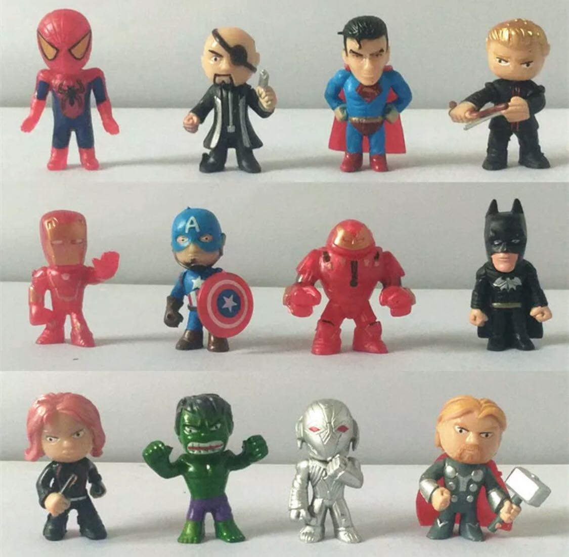 IRON MAN Avengers Cake Topper Figurine Figure Decoration Birthday Characters