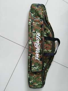 Bag carrier for fishing rods