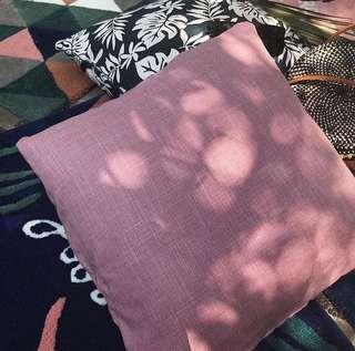 Pink sands pillow