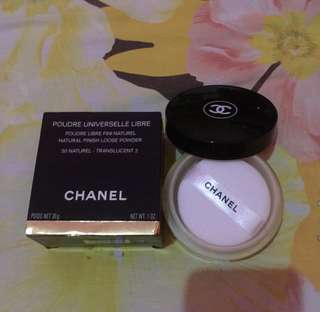 Chanel loose powder