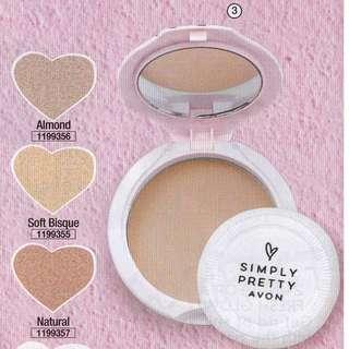 Avon Smooth & White Pressed Powder SPF14 10g