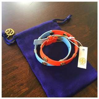 Authentic Tory Burch Double wrap bracelet