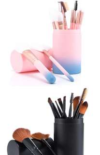 Matte High Quality Make Up Brush Set