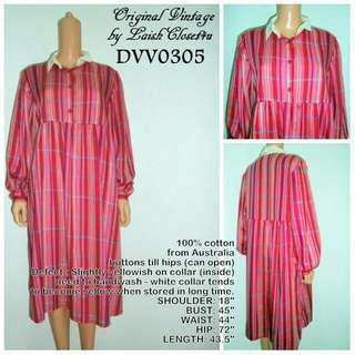 DVV0305 STRIPES VINTAGE DRESS