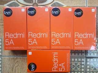 Redmi 5a new garansi tam 1tahun
