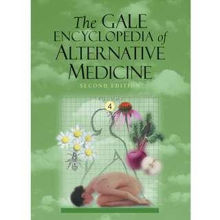 The Gale Encyclopedia of Alternative Medicine (Volume 4) (667 Page Mega eBook)