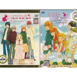 Honey And Clover Season 1-2 Anime DVD