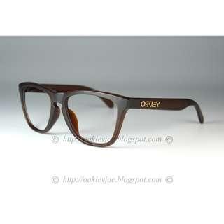 BNIB Oakley Frogskins Asian Fit matte rootbeer frame only for RX prescription