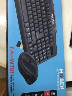 無線鍵盤滑鼠套裝
