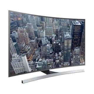 Samsung UA55JU6800J 曲面4k smart TV