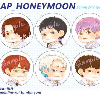 BAP - Honeymoon badge