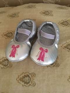 Baby Silver Doll Shoes (Read Description)