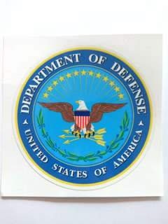 Department of Defense USA Pentagon Sticker Decal