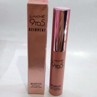 NEW, Lakme 9 to 5 Matte Lip and Cheek Color