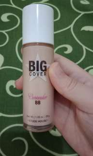 Etude house big cover bb cream