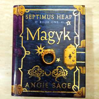 Septimus Heap- Book 1 ( Magyk)