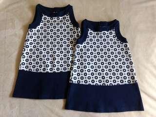 Set of 2 Gymboree Sleeveless Dresses
