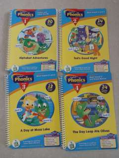 {Free NM} Leap frog Phonics book 1 to 4