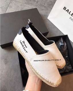 Saint Laurent Espadrilles - White