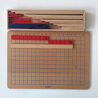 Montessori Mathematics Addition And Substraction Strip Board