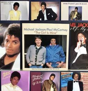 Michael Jackson Limited Edition Singles Pack Vinyl Records
