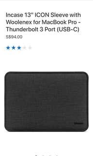 MacBook Pro 13 inch Incase cover