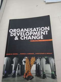 Organisatiom development and change