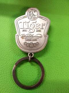 Tiger Beer Weighted Keychain Collectible