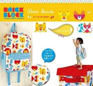 🚚 🎈現貨🎈🇯🇵日本DECOLE 可愛動物兒童後背包 尺寸