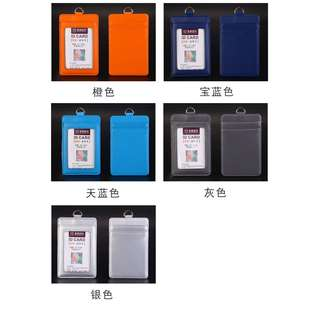 BN-3 slots Card Holder (Leather) with Retractable Cord Length. 13 Colours