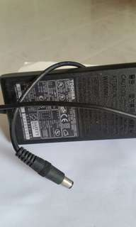 original TOSHIBA charger good condition 15v..5A $20 only