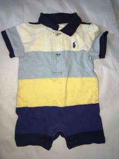Ralph Lauren Baby Boy Romper 3-6m