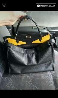 Peekaboo inspired bag
