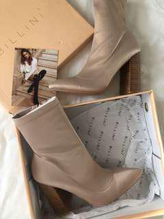 Billini nude sock boots