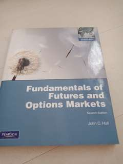 Fundamental of futures and option markets