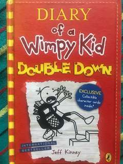 Diary of a wimpy kid storybook.