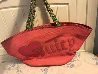 Juicy Couture 籐籃大袋