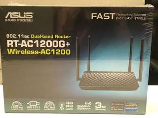 ASUS Dual band router AC1200 wireless (BN)