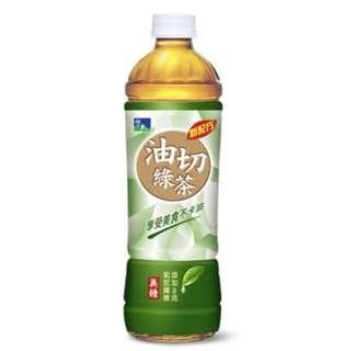 悅氏 油切綠茶 550ml