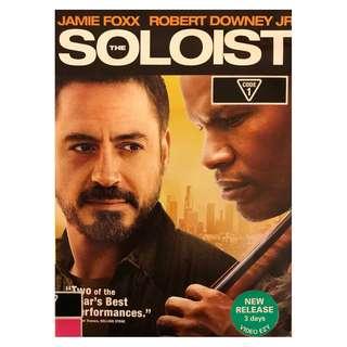 DVD - THE SOLOIST (ORIGINAL USA CODE 1)