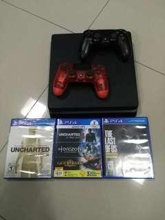 🆕 & 💘 PS4 bundle set (2 controllers, 5 games) #SUBANGJAYASWAP